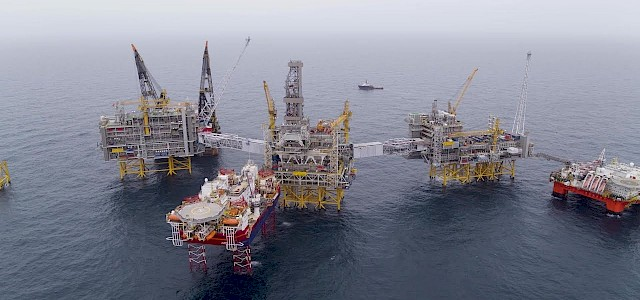 Johan Sverdrup - Offshore Installation Completed